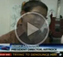 Indonow artrock guitar on Metro TV