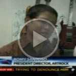 Indonow artrock guitar on Metro TV