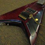 Azis Jamrud '666′ Signature Guitar